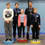 Viisi mitalia junioreiden piirinmestaruuskilpailuista