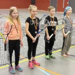 Tennismestaruudet ratkottiin tasokkaassa turnauksessa