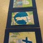 Moision koulussa juhlistettiin satavuotiasta Suomea.