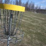 Sanna Ahlgren kakkosena frisbeegolfin amatöörisarjan kilpailussa