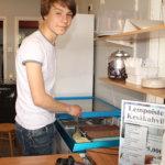 Lempoisten uimalan kahvila avasi ovensa nuoren yrittäjän voimin