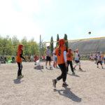 Lentopallojuniorit kokoontuivat Vantaalle viikonloppuna