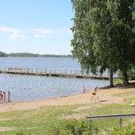 Uimista Lempoisten uimarannalla on syytä välttää