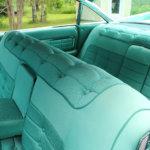 Cadillaciin saa vielä alkuperäistä sisustusverhousta. Kuva: Erkki Koivisto