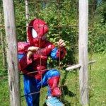 Hämähäkkimiehen vierailu Kuva: Pirjo Hasari