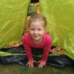 Onni on oma teltta Kuva: Leena Stenman