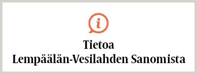 Tietoa Lempäälän-Vesilahden Sanomista