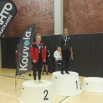 Emma Gleisner tuplamestaruuteen nuorten SM-kisoissa, Kolehmaiselle kokemusta