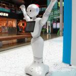 Tanssiva robotti Ideaparkissa