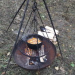 Keskiaikaista ruoanlaittoa. Kuva: Piia Kylliäinen