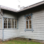 Vuonna 1873 rakennettu kanavanvartijan talo on ulkoasultaan Museoviraston suojelema. Sisältä talo on kunnostettu 1980-luvulla. Kuva: Erkki Koivisto