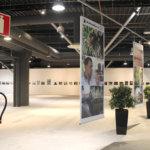 Ideaparkin näyttelytila toisessa kerroksessa on avara ja valoisa. Vain lepuutteluistuin puuttuu. Kuva: Erkki Koivisto
