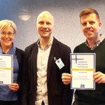 Kiillolle Suomen aktiivisimman työpaikan sertifikaatti