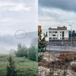 Sama paikka ennen (2004) ja vuonna 2017. Kuva: Juha Suonpää