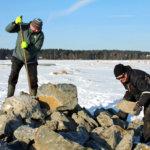 Ahtialanjärven kivikasat ovat keinokareja