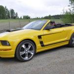 Mustangilla on reissattu kesäisin niin Suomessa kuin Euroopassa. Kuva: Katariina Onnela
