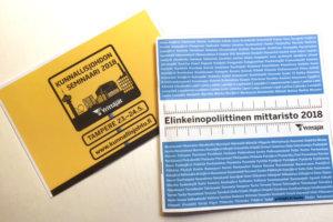 Ylöjärvi ja Lempäälä menestyivät Suomen Yrittäjien Elinkeinopoliittinen mittaristo 2018 -kyselyssä. Ne jakoivat kolmannen sijan 10 000-5 000 asukkaan kuntien sarjassa.