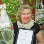Riina Markkola on vuoden maaseutuhenkilö