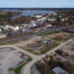 Uutta Lempäälän keskustaa rakennetaan aidan takana