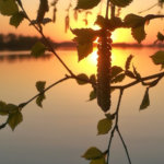 Äitienpäivän aaton auringonlasku