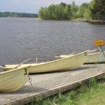 Mäyriä: Mäyriässä on käytettävissä soutuveneitä ja pelastusvene. Kuva: Erkki Kovisto