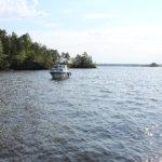 Kuivaset: Suuremmalle saarelle on valmistunut etelärannalle uusi venelaituri. Kuva: Erkki Koivisto