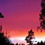 Auringonlasku Kuljussa