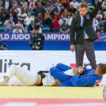 LeKin Karinkanta tuomarina judon MM-kilpailussa