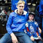 LeKin 08-juniori Leijonien Marko Anttilan vieraana sunnuntain Ruotsi-ottelussa