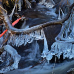 Luonnon ja ihmisen tekemää vesitaidetta