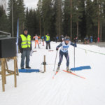 LeKin Oona Kettunen hiihti Suomen cupin pisteille