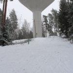 Valaistus Hakkarin vesitorninmäkeen