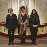 Ella Pyhältö, Lena Labart ja Kirsi-Kaisa Sinisalo herättelevät kuulijoitaan emerituspiispan ihmisläheisillä runoilla