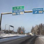 Sääksjärven liittymän liikenne sunnuntaina kiertotielle – nyt suljettuna on ajosuunta Hervannasta Sääksjärvelle