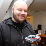 Lassi Sirviö: – Olen autoalan ihminen, työn ja harrastuksen puolesta. Aloitin ura-autoilun vuoden 2017 syksyllä, kun Jyrki sai puhuttua minut mukaan. On kivaa olla joku harrastus, ja päädyin tähän. Kuva: Katariina Rannaste
