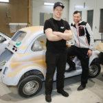 ABS1 Auto- ja Kolarikorjaamo Center hoitaa kaikki automerkit Ideaparkin vieressä