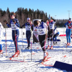 LeKi:n hiihtäjät kahmivat mitalisijoja piirin kisoissa
