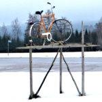 Seivästetty polkupyörä