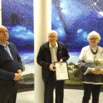 Kauko Palmusta Lempäälän Mieskuoron kunniapuheenjohtaja
