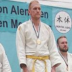 Lempäälän Syokonkan Judon Antti Saranko otteli judomestaruuteen