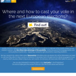 Löydä itsellesi sopiva EU-vaaliehdokas koko Euroopan unionin yhteisessä vaalikoneessa euandi2019:ssa