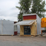 Koululaisten kesälomien aikaan asennetaan viipaleita koulujen pihoille Moisioon, Hakkariin, Sääksjärvelle ja Nurmelle