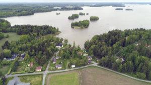 Haurala, Kirkkojärvi, maisema, järvi, Lempäälä