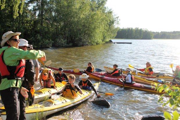 Suomi meloo -tapahtuman osuus Nokialta Laukkoon sujui sivutuulessa, mutta kukaan ei kaatunut matkalla. Kuva: Antti Raunio