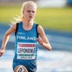"""Klaara Leponiemen EM-kymppi täyttä tuskaa, arvokisadebyytti soi sijan 16: """"Paria päivä ennen kilpailua lenkillä kipeytyi päkiän ulkoreuna"""""""