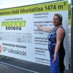 Liikuntaparkki laajentaa – uusi halli rakentuu aivan viereen: Minna Rajamäki haluaa toteuttaa asiakkaiden hullutkin ideat liikkumisesta
