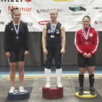 Emma Gleisner jälleen Suomen ennätyksiin