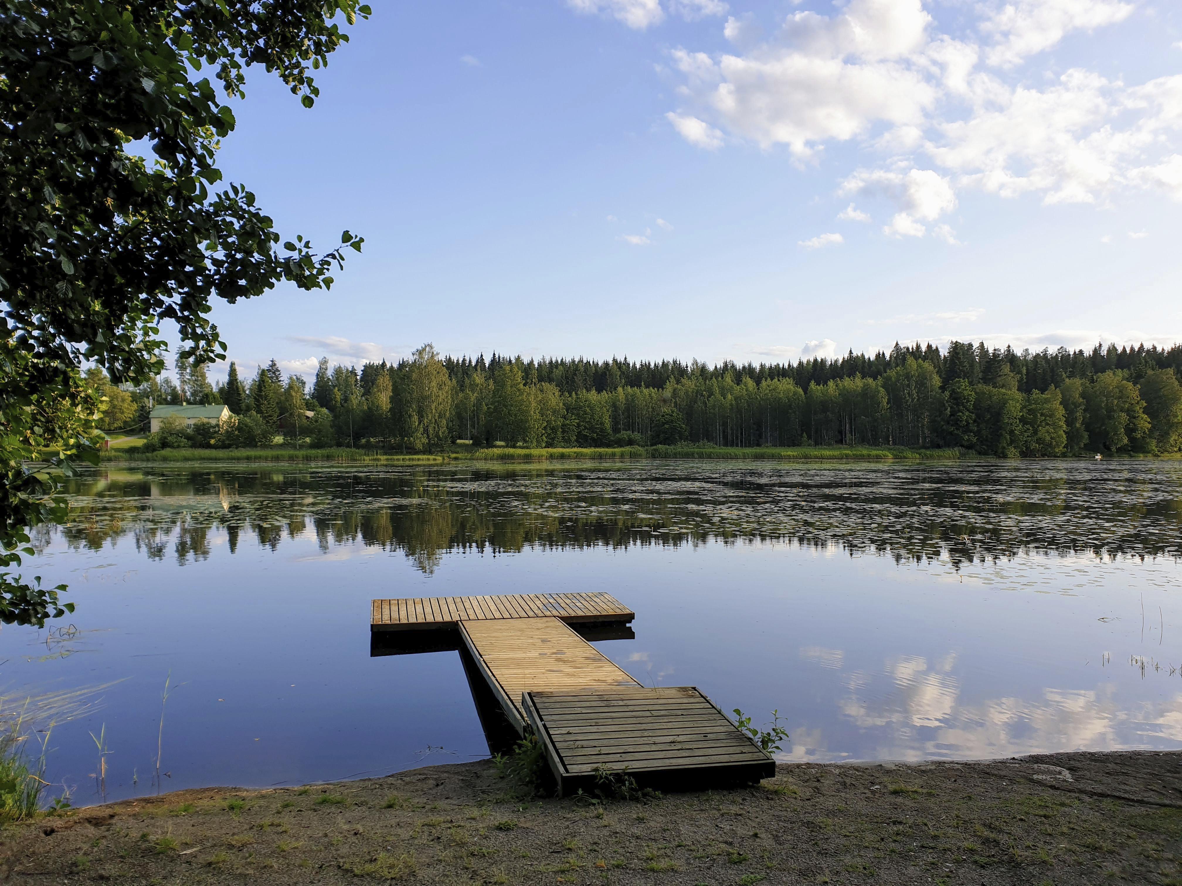 Peilityyni järvi. Kuva: Mirva Kujala
