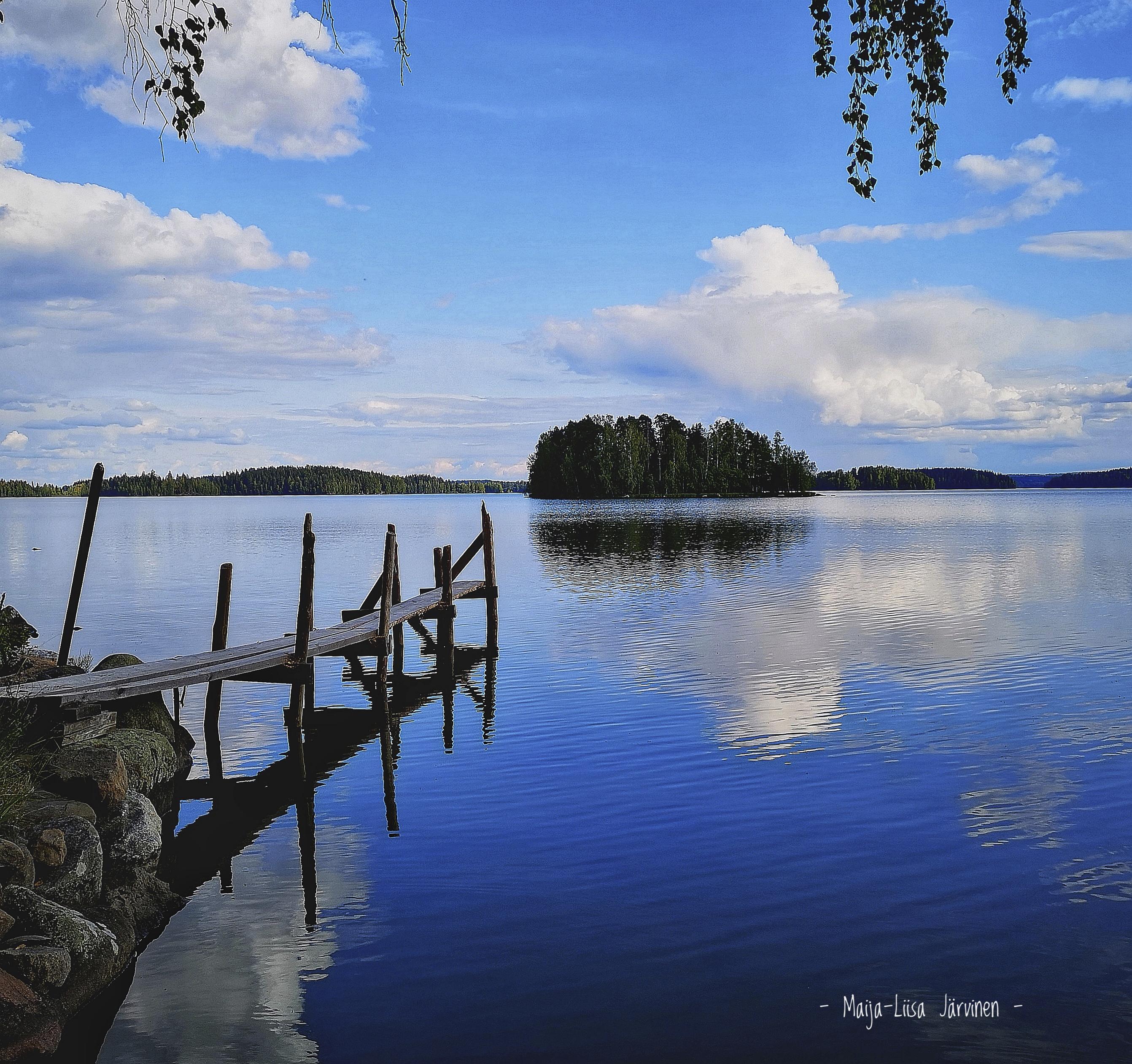 Kesäilta Laukossa. Kuva: Maija-Liisa Järvinen