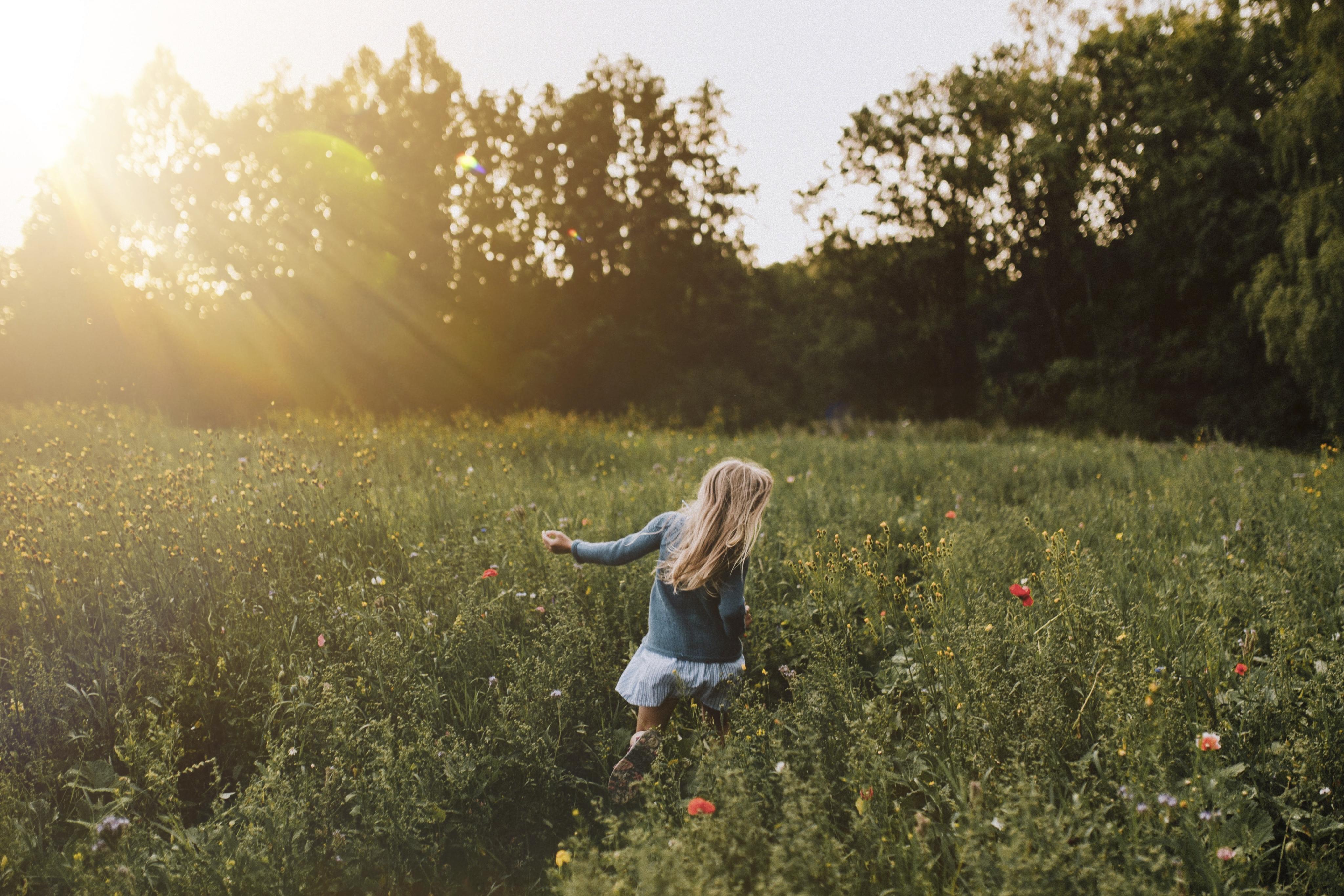 Kukkaniityllä.  Kuva: Enna Palonen